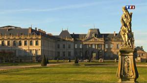 En Lorraine, le Château de Lunéville renaît de ses cendres