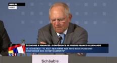 """Macron et Sapin à Berlin : """"Un document franco-allemand"""" sur l'investissement va être élaboré"""