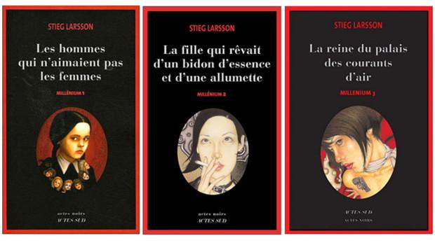 Millenium Stieg Larsson Actes Sud