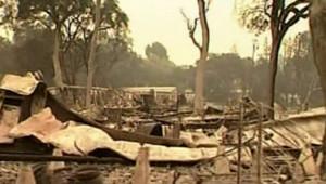 californie incendie dégats