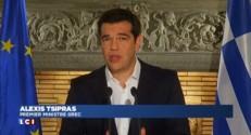 """Crise de la Grèce : fort du """"non"""" au référendum, Tsipras veut reprendre les négociations"""