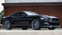 Ford Mustang RTR, version préparée de 725 ch avec Vaughn Gittin Jr révélée au SEMA Show et lancée en janvier 2015
