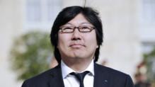 Jean-Vincent Placé, le 15 mai 2012 à l'Elysée.
