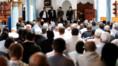Trois jours après le meurtre du père Hamel, le curé Auguste Moanda s'est adressé aux musulmans de la mosquée de Saint-Etienne-de-Rouvray, le 29/07/16