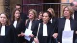 Au moins six tribunaux bloqués