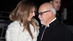 Céline Dion et René Angélil à Paris, le 13 novembre 2013