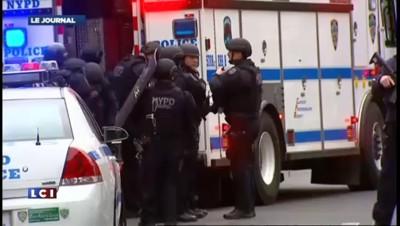 Emotion à New-York après le meurtre de deux policiers
