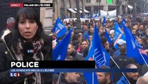 Hollande reçoit les syndicats de police...sans Christiane Taubira