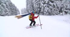 Le 13 heures du 28 décembre 2014 : Haute-Savoie : risque d'avalanche maximal après les importantes chutes de neige - 410.623