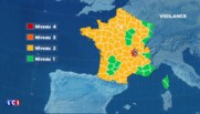 Le Rhône et la Loire en vigilance orange aux vents violents