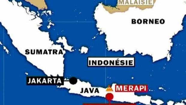 TF1 /LCI Merapi