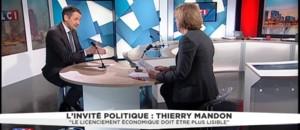 """Thierry Mandon : """"Etre implacable sur les licenciements abusifs"""""""