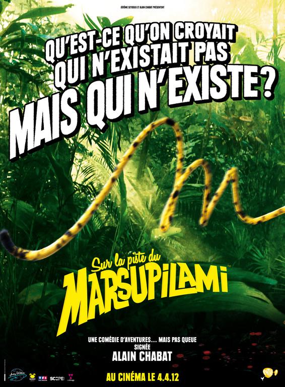 Affiche teaser du film Sur la piste du Marsupilami