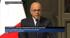 """Cazeneuve sur la menace terroriste : """"La France n'a pas peur"""""""