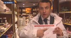 Emmanuel Macron schéma CICE