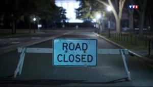 """Etats-Unis : route fermée en raison du """"shutdown"""" fédéral, 1/10/13"""