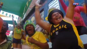Le 20 heures du 24 juin 2014 : Le Mondial 2014 vu des favelas - 1819.0750428466797