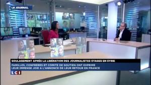 Libération des otages français en Syrie : ils arriveront dimanche matin selon Christophe Deloire