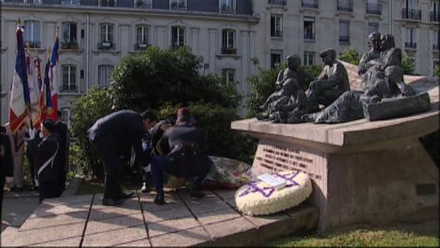 Rafle du Vel d'Hiv : les cérémonies du 22 juillet 2012 à Paris, en présence de François Hollande