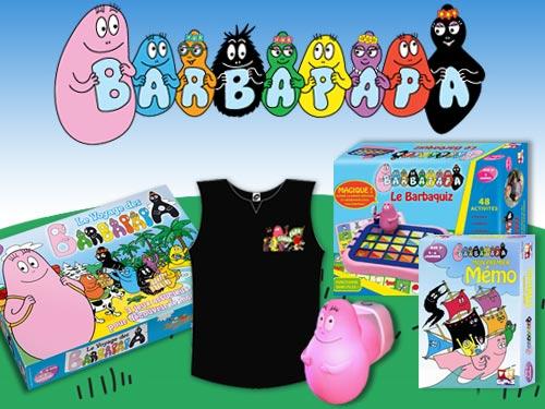 Découvrez de nombreux cadeaux Barbapapa