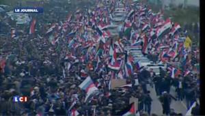 Le ministre russe accueilli en héros à Damas