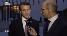 Macron ne modifiera pas la formule du Smic, promet-il sur LCI