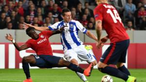 Barrage aller de la Ligue des champions Lille-Porto, le 20 août 2014 (0-1).