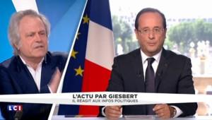 """Franz-Olivier Giesbert : """"Hollande est intéressant, il est au fond du trou mais il y croit toujours"""""""