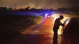 Les autorités n'ont pas dit pour l'heure quelle pouvait être l'origine de l'explosion mercredi soir à West, au Texas.