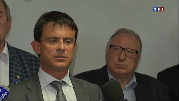 Manuel Valls chahuté à Amiens