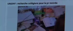 """Moselle : """"Urgent ! Recherche collégiens pour la rentrée"""""""