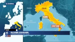 """Navire à la dérive au large de l'Italie : """"la situation serait sous contrôle"""""""