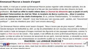 Non, Macron ne pourra pas regarder Hollande ce jeudi sur France 2 : mais pourquoi ?