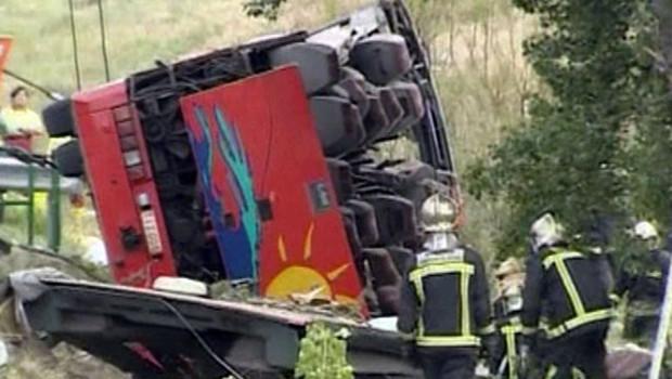 TF1/LCI Accident Car Espagne Belgique Maroc