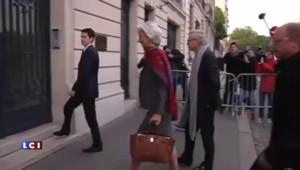 Arrivée de Christine Lagarde à la Cour de Justice de la République