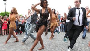 Shy'm - Danse Avec Les Stars Flashmob - Paris
