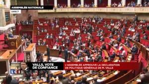 """Valls : """"Je serai à la hauteur de cette confiance"""""""