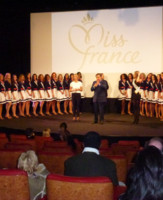 Conference de Presse TF1 - Miss France 2012