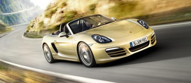 Le nouveau modèle Boxster 211 de Porsche.