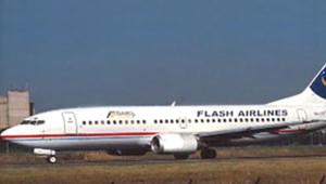 L'avion de la compagnie Flash Airlines victime d'un crash à Charm el-Cheikh en janvier 2004