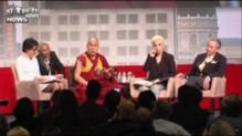 Le Dalaï Lama et Lady Gaga appellent ensemble à lutter contre la violence dans le monde