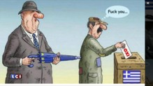 """""""Non"""" au référendum grec : l'austérité trébuche littéralement sur la Grèce"""