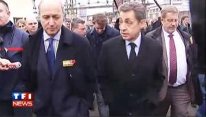 Petroplus : Sarkozy et Fabius côte à côte à Petit-Couronne