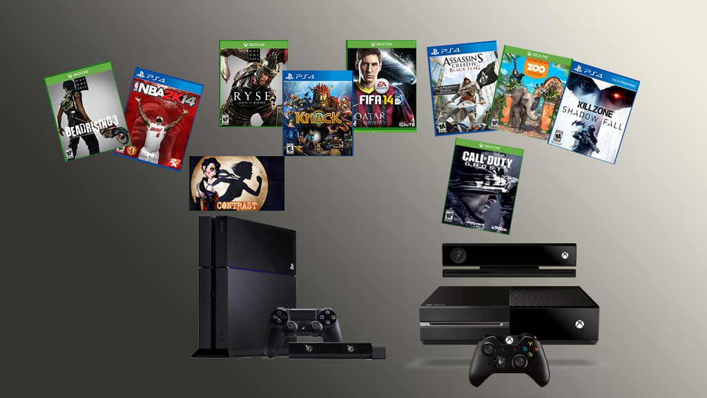 le gamer enrage comparatif ps4 vs xbox one. Black Bedroom Furniture Sets. Home Design Ideas