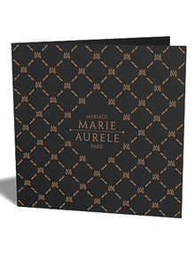Faire-part de Mariage Luxe - Marie &amp; Aurele