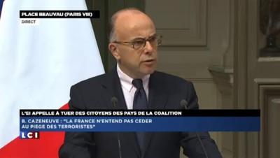 """Bernard Cazeneuve : """"La France est préparée à répondre aux menaces"""""""