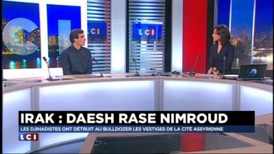 """Daesh détruit des antiquités en Irak : """"Il se peut qu'on rentre dans une guerre de représentation"""""""