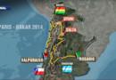 Dakar-2014 : la carte du parcours