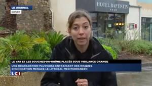 Intempéries: 81mm de pluie en une heure au Lavandou, un hôtel inondé