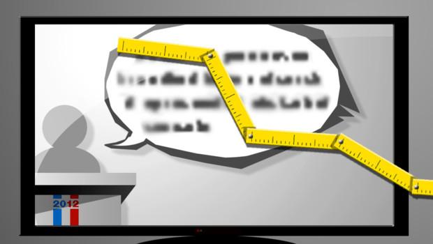 Le temps de parole est fondé sur la règle de l'égalité à la radio et à la télé à partir du lundi 20 mars 2012.